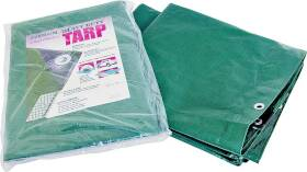 MintCraft T0608GS140 6x8 Hvy Duty Green/Silver Tarp