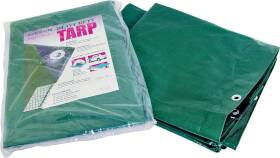 MintCraft T1216GS140 12x16 H.duty Green/Silver Tarp