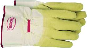 Boss Mfg Co 8424 Glove Rubber Coated Cotton