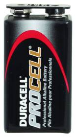 Duracell PC1604BKD Procell 9v Battery