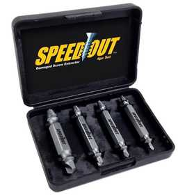 Ontel Products 1000246 SpeedOut Damaged Screw & Bolt Extractor Set