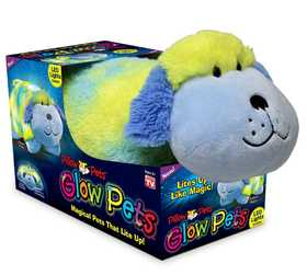 Ontel Products 90114 Rainbow Dog Pillow Pet Glow Pets