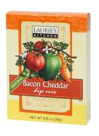 Laurie's Kitchen W78025 Bacon Cheddar Dip Mix