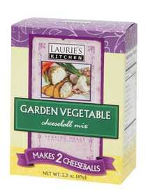 Laurie's Kitchen W61140 Garden Vegetable Cheeseball Mix 2 Pack