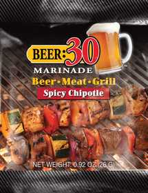 Old World Spices OW88000 Beer:30 Spicy Chipotle Marinade