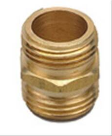 Orbit Irrigation 53259 Brass Hose Nipple 3/4 in Mhtx3/4 Mht