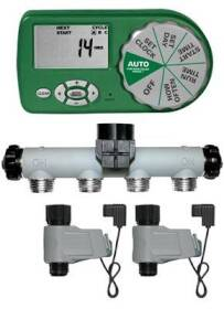 Orbit Irrigation 58872N Zinc Manifold Yard Watering Kit With 2 Valves And Limited Hardware
