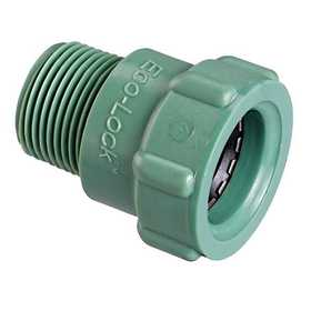 Orbit Irrigation 36378 3/4 In Eco-Lock X 3/4 In Mpt Adapter