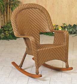 Osage Products 1561110SL Casablanca Deluxe Wicker Rocking Chair