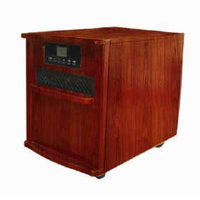 Howard Berger 125129 Infrared Heater 1500w Cherry