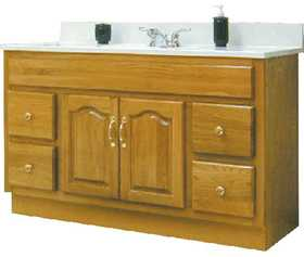 Osage Cabinet CDV4818D2 48x18 Classic Vanity