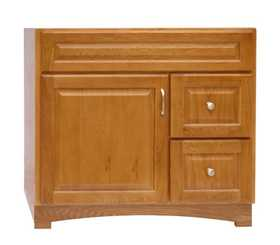 Osage Cabinet TV3618-DL Timberline 36x18 2 Drawer Vanity