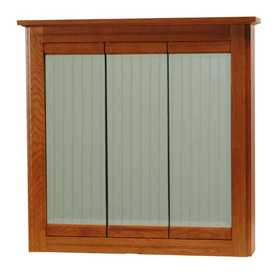 Osage Cabinet WSTV3630-B 36x30 Windsor Tri-View Cabinet
