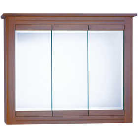 Osage Cabinet WSTV4830-B 48x30 Windsor Tri-View Cabinet