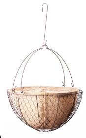 Panacea 84278 14 in Rustic Hanging basket With