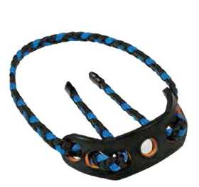 Paradox Products PSYN T-7 SynSling Black/Blue Standard Target Braided Strap