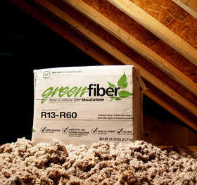 Green Fiber INS541LD Cocoon Loose Fill Cellulose Insulation