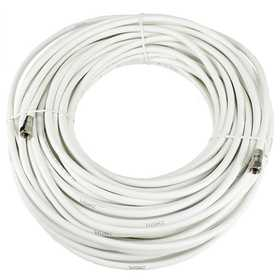 Perfect Vision Mfg 036016 Coax Cable Patch Cord 100 ft White