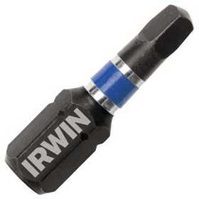 Irwin 1837385 Square Recess Impact Insert Bit (2-Pc)