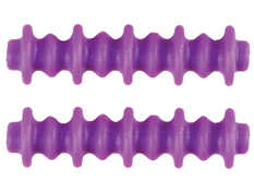 Pine Ridge Archery 2724-PR Nitro Button Xl 2pk Purple