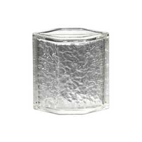 Pittsburgh Corning Corp 110463 Icescapes Glass Block Hedron