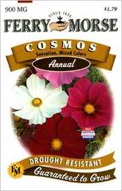 Ferry-Morse Seed Company 1039 Cosmos Sensation Mix Seeds
