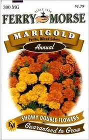 Ferry-Morse Seed Company 1083 Marigold Petite Mix Seeds