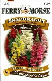 Ferry-Morse Seed Company 1143 Snapdragon First La Seeds