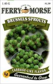 Ferry-Morse Seed Company 1237 Brussels Sprouts Ct Seeds