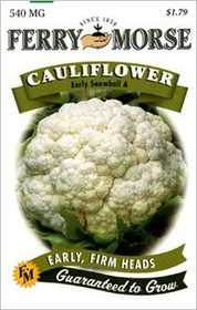 Ferry-Morse Seed Company 1259 Cauliflower Early S Seeds