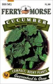 Ferry-Morse Seed Company 1279 Cucumber Spacemaster Seeds