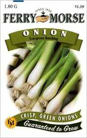 Ferry-Morse Seed Company 1319 Onion Evergreen Booching Seeds