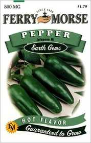 Ferry-Morse Seed Company 1334 Pepper Jalapeno Seeds