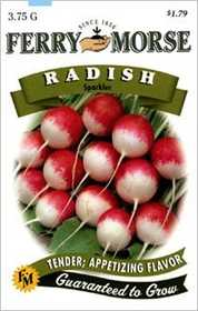 Ferry-Morse Seed Company 1355 Radish Sparkler Seeds