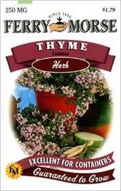Ferry-Morse Seed Company 1389 Thyme Seeds