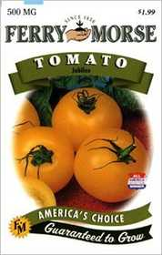 Ferry-Morse Seed Company 1399 Tomato Jubilee Seeds