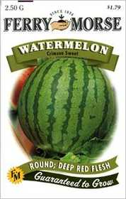 Ferry-Morse Seed Company 1417 Watermelon Crimson Seeds