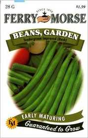 Ferry-Morse Seed Company 1430 Beans Tendergreen Seeds