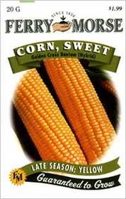 Ferry-Morse Seed Company 1444 Corn Golden X Bantm Seeds