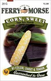 Ferry-Morse Seed Company 1448 Corn Sugar Dots Hybrid Seeds