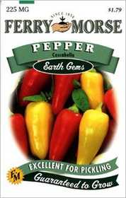 Ferry-Morse Seed Company 1469 Pepper Cascabela Seeds