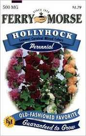 Ferry-Morse Seed Company 1577 Hollyhock Summer Ca Seeds