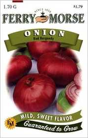 Ferry-Morse Seed Company 1729 Onion Burgundy Seeds