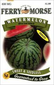 Ferry-Morse Seed Company 1928 Watermelon Ultra Seeds