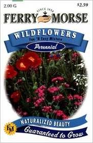 Ferry-Morse Seed Company 1944 Wildflower Fun Easy Seeds
