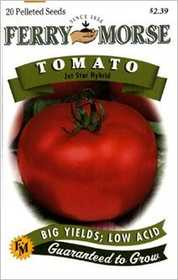 Ferry-Morse Seed Company 1971 Tomato Jet Star Hybrid Seeds