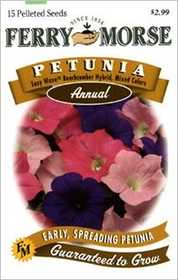 Ferry-Morse Seed Company 1983 Petunia Easy Wave Seeds