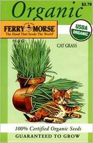 Ferry-Morse Seed Company 1985 Catgrass Seeds