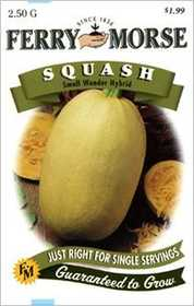 Ferry-Morse Seed Company 2133 Squash Small Wonder Seeds