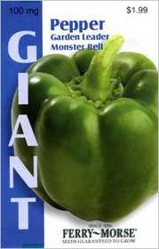Ferry-Morse Seed Company 2139 Pepper Greend Leader Monstr Seeds